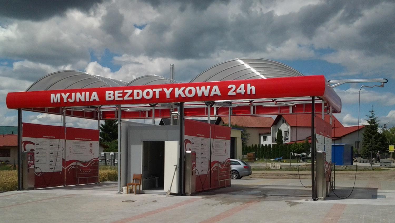 Myjnia bezdotykowa Jabłonowo